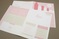 Pink Skin Care Newsletter Template
