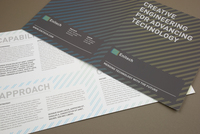 Contemporary Engineering Brochure Template