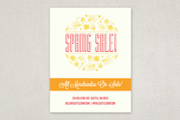 Illustrative Spring Sale Flyer Template