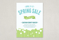 Spring Flowers Sale Flyer Template