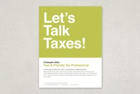 Friendly Tax Agent Flyer Template
