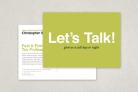 Friendly Tax Agent Postcard Template