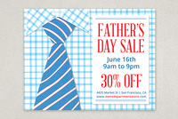 Father's Day Sale Flyer Template