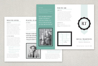 Quality Seal Brochure Template