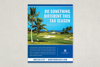 Professional Tax Preparation Flyer Template