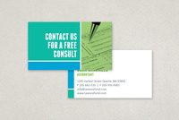 Maximum Tax Refund Business Card Template
