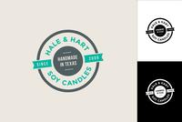 Ribbon Circle Logo Design Template