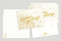 Seasons Greetings Holiday Greeting Card Template