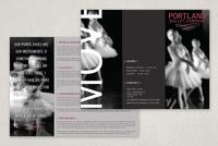 Contemporary Ballet Brochure Template