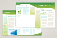 Going Green Flyer Newsletter Template