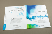 Cleaning Company Newsletter with Watercolor Template