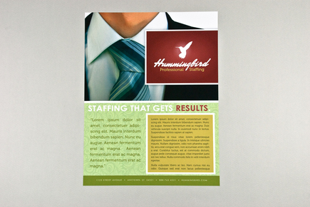 sample flyer template free .
