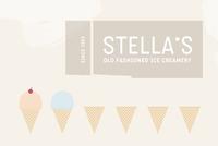 Graphic Ice Cream Shop Logo Template
