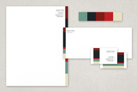 One Year of Love Business Stationery Templates