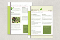 Landscape Services Datasheet Template