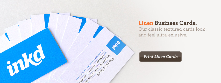 Graphic design templates logos presentations and printing inkd linen business cards colourmoves