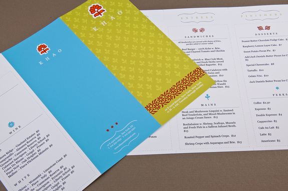 Asian Restaurant Menu Template Inkd