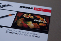 Sushi Chef Letterhead Template