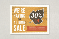 Autumn Sale Flyer Template