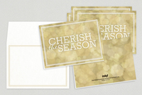 Universal Wishes Holiday Greeting Card Template