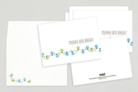 Festive Lights Holiday Greeting Card Template