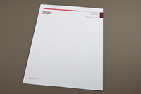 Fashion Boutique Letterhead Template