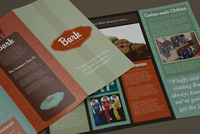 Pet Boutique Brochure Template
