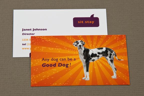 Dog trainer business card template inkd dog trainer business card template colourmoves