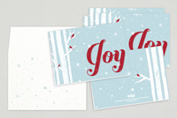 Winter Joy Holiday Greeting Card Template