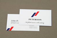 Upscale Automobile Company Business Card Template