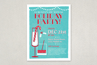 Festive Holiday Party Poster Template