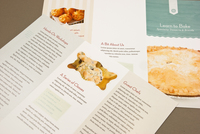 Baking School Brochure Template