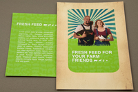 Feed Supplier Postcard Template