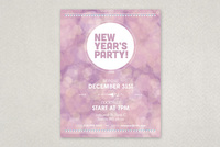 Twinkling Party Flyer Template