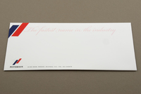Upscale Automobile Company Envelope Template