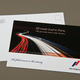 Upscale Automobile Company Postcard Template