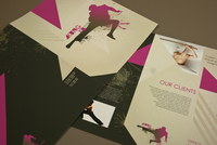 Martial Arts Brochure Template