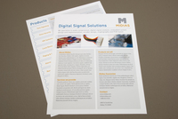 Digital Technology Datasheet Template