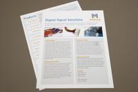 Digital Technology Datasheet Template