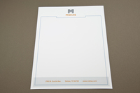 Digital Technology Letterhead Template