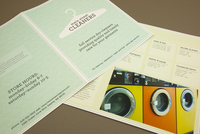 Dry Cleaners Brochure Template