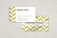 Bold Patterned Business Card Template