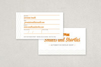 Repair Shop Business Card Template