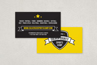 Sports Camp Business Card Template