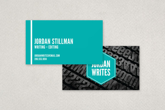 Freelance Writer Business Card Template Inkd