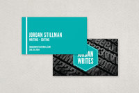 Freelance Writer Business Card Template