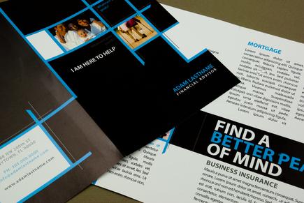 Financial advisor brochure template inkd for Financial brochure templates