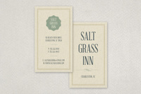 Textured Inn Business Card Template