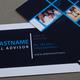 Financial Advisor Business Card Template
