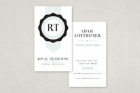Quality Seal Business Card Template